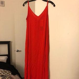 NWT Women's Red Summer Dress
